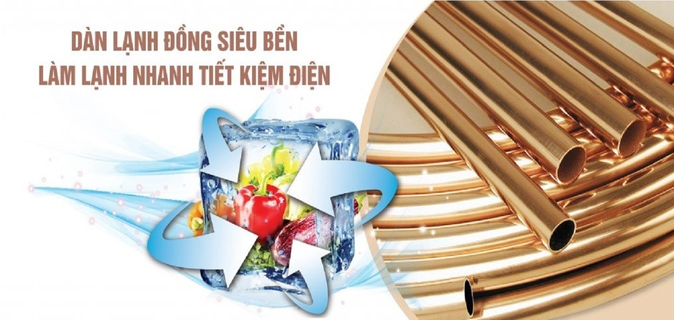 Tủ đông Sanaky Inverter 100 Lít VH-1599HY-KD mát lạnh