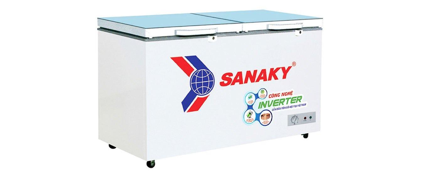 Tủ đông Sanaky Inverter 235 Lít VH-2899A4K thiết kế sang trọng
