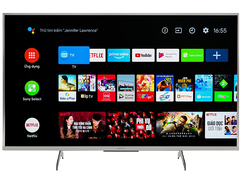 Android Tivi Sony 4K 49 inch KD-49X8500H 1