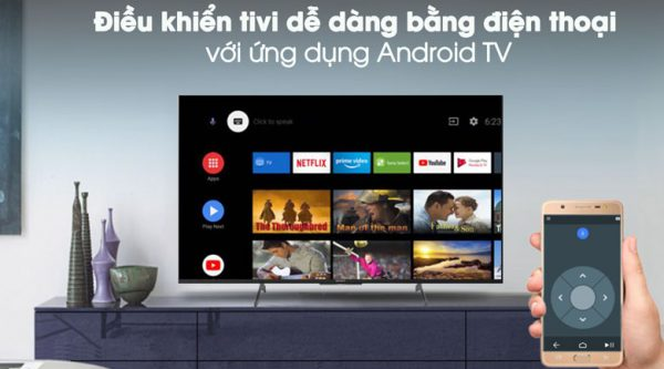 Android Tivi Sony 4K 49 inch KD-49X8500H 13