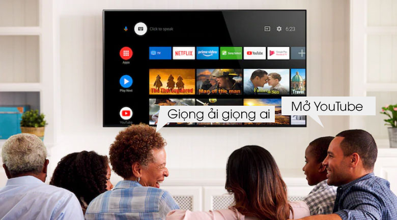 Android Tivi Sony 4K 49 inch KD-49X8500H 14