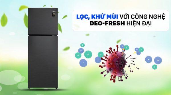 Tủ lạnh AQUA Inverter 212 lít AQR-T239FA(HB) 2