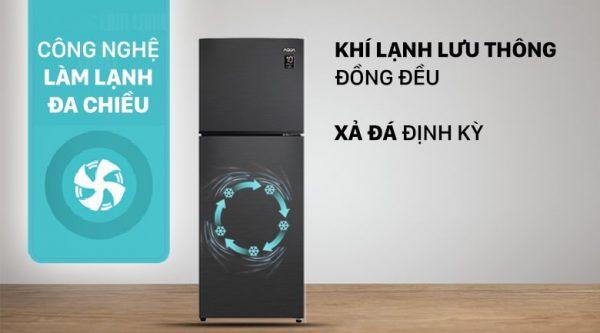 Tủ lạnh AQUA Inverter 212 lít AQR-T239FA(HB) 4