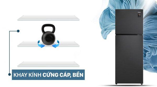 Tủ lạnh AQUA Inverter 212 lít AQR-T239FA(HB) 5