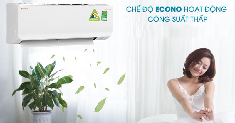 Mẹo sử dụng điều hòa Daikin tiết kiệm điện cho mùa hè econo