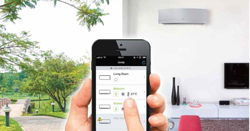Mẹo sử dụng điều hòa Daikin tiết kiệm điện cho mùa hè điều khiển từ xa