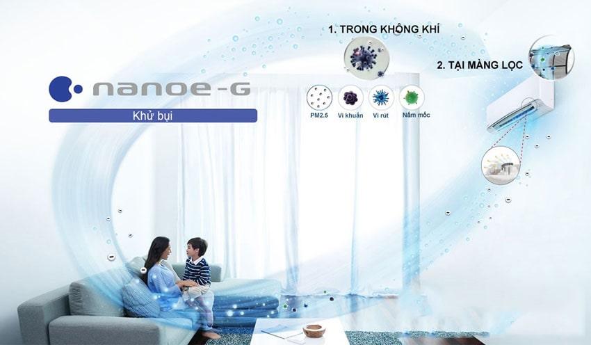 Điều hòa Panasonic Inverter 1 chiều 18000 BTU XPU18XKH 6