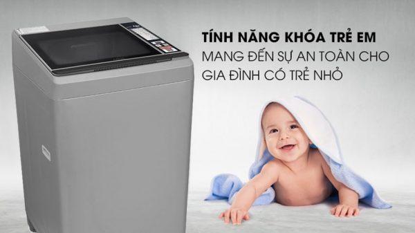 Máy giặt Aqua 9.5Kg AQW-S95FT S 8