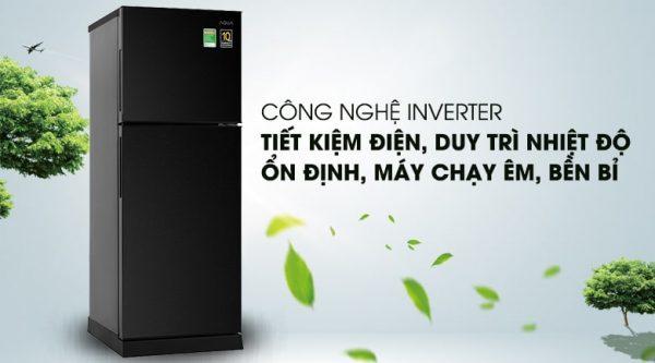 Tủ lạnh Aqua Inverter 186 lít AQR-T219FA(PB) 8