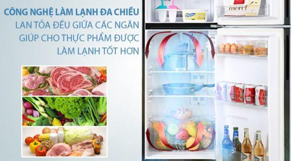 Tủ lạnh Aqua Inverter 186 lít AQR-T219FA(PB) 9
