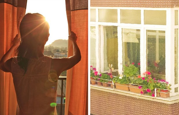 Tránh ánh nắng mặt trời vào ban ngày