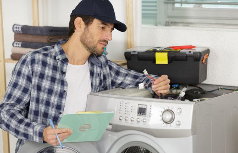 máy giặt không giữ được nước