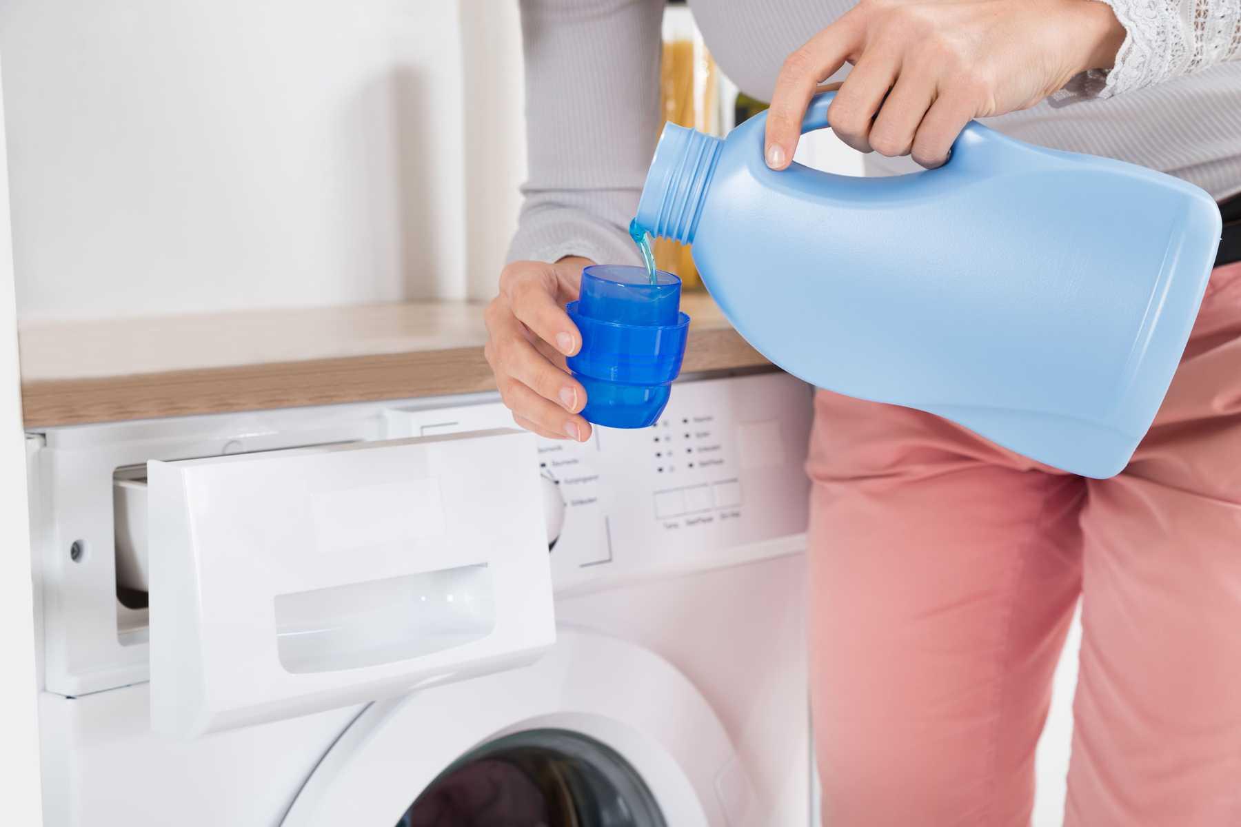 sử dụng nước giặt