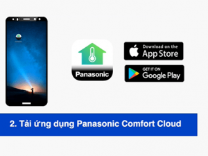 ứng dụng Panasonic Comfort Cloud