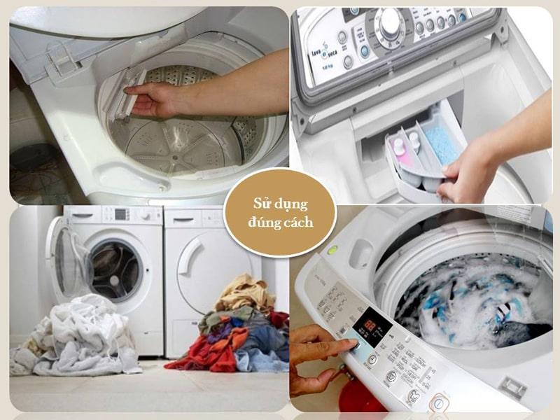 Cách sử dụng máy giặt trong mùa mưa