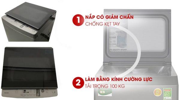 Máy giặt Toshiba 8 kg AW-K905DV(SG) 8