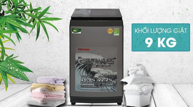 Máy giặt Toshiba 9 kg AW-K1005FV(SG) 12