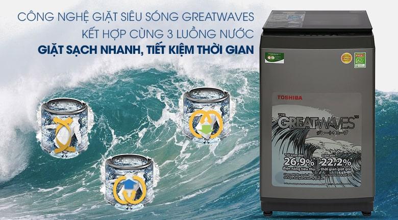 Máy giặt Toshiba 9 kg AW-K1005FV(SG) 13