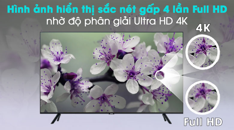 Smart Tivi Samsung 4K 55 inch UA55TU8000 4