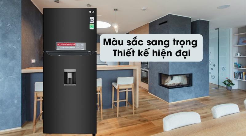 Tủ lạnh LG Inverter 393 lít GN-D422BL 11