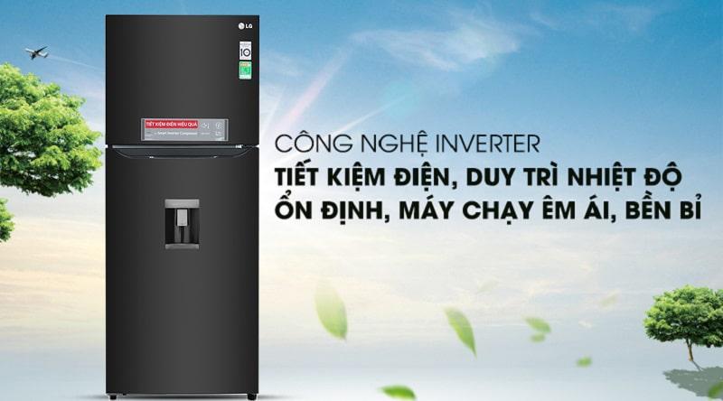 Tủ lạnh LG Inverter 393 lít GN-D422BL 12