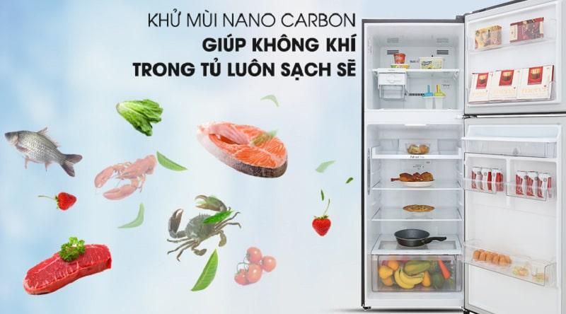 Tủ lạnh LG Inverter 393 lít GN-D422BL 13