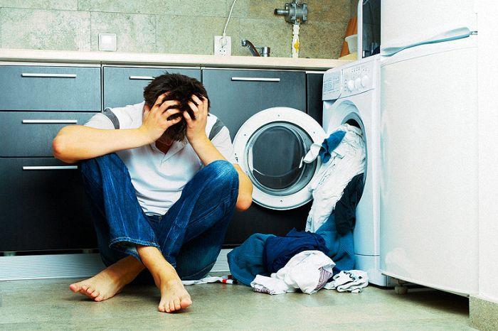 thói quen xấu sử dụng máy giặt