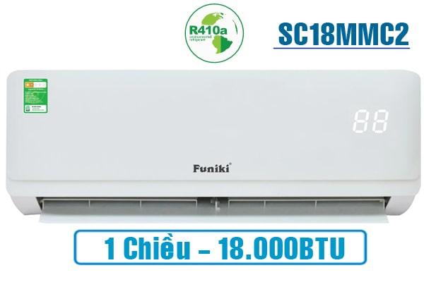 điều hòa Funiki giá rẻ HSC18MMC 1 chiều 18000 BTU 2