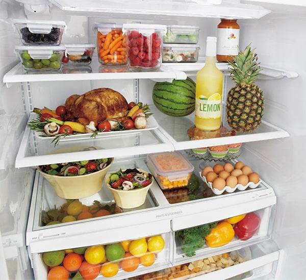 Cách sắp xếp thực phẩm