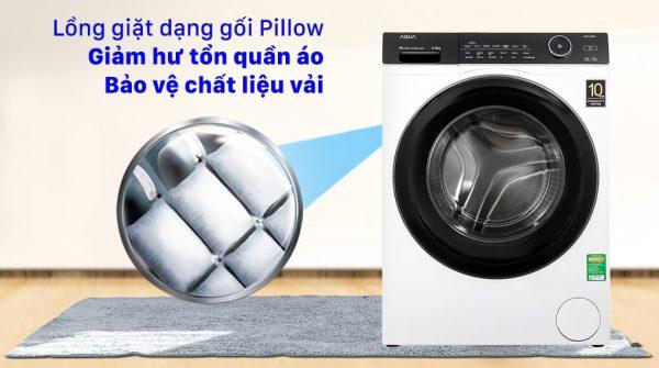 Máy giặt Aqua Inverter 9KG AQD-A900F W 10