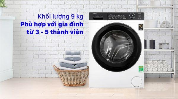 Máy giặt Aqua Inverter 9KG AQD-A900F W 11