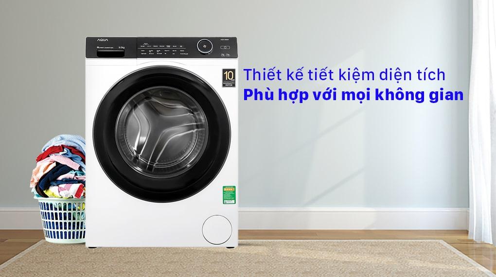 Máy giặt Aqua Inverter 9KG AQD-A900F W 7