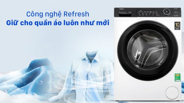 Máy giặt Aqua Inverter 9KG AQD-A900F W 9
