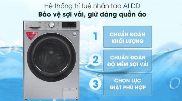 Máy giặt LG Inverter 8.5 kg FV1408S4V 11