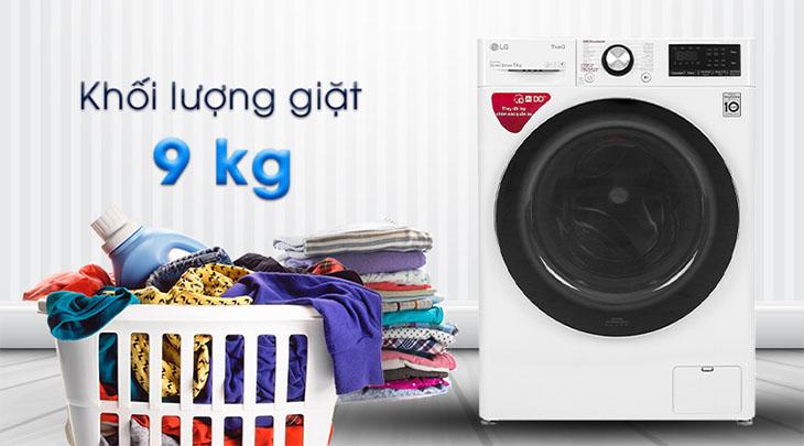 Máy giặt bao nhiêu cân là phù hợp với nhu cầu sử dụng
