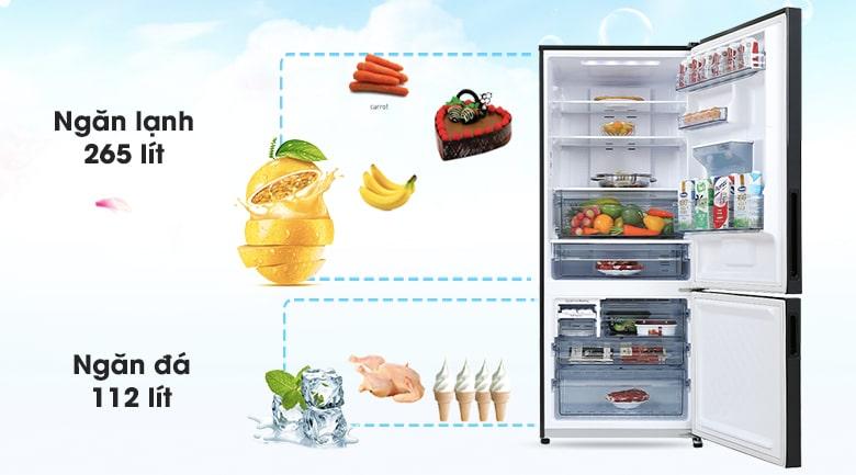 Tủ lạnh Panasonic Inverter 377 lít NR-BX421GPKV 10
