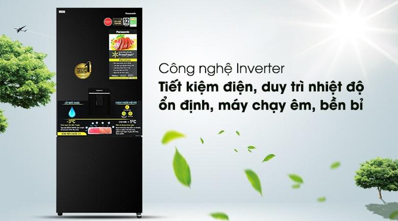 Tủ lạnh Panasonic Inverter 377 lít NR-BX421GPKV 8