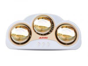 Đèn sưởi nhà tắm Kaisu 3 bóng KS3B 1
