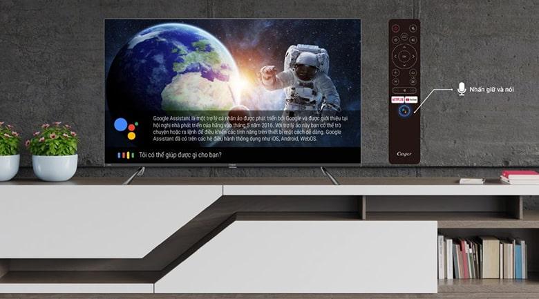 Android Tivi Casper 4K 55 inch 55UG6100 5