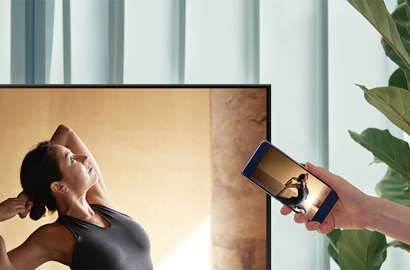 Smart Tivi Samsung 4K 50 inch 50AU7000 9