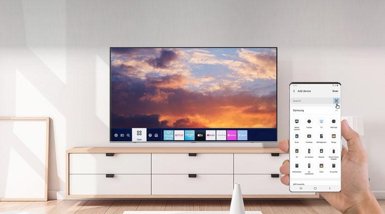 Smart Tivi Samsung 4K 55 inch UA55TU6900 8