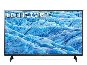 Thiết kế tinh tế, chân đế giống hình chữ V vững chắc Smart Tivi LG 4K 55 inch 55UN721C0TF sở hữu thiết kế hiện đại với khung viền đen mạnh mẽ, tinh tế kết hợp cùng chân đế dạng hình chữ V úp ngược vững chãi mang đến tổng thể hài hòa, làm nổi bật không gian nội thất được bố trí. Tấm nền IPS với màn hình kích thước tivi LG 55 inch cho hình ảnh hiển thị có góc nhìn rộng, không bị biến đổi màu sắc, thích hợp để đặt ở các nơi như: phòng khách, phòng họp,... Hình ảnh hiển thị chi tiết và sắc nét gấp 4 lần Full HD nhờ màn hình có độ phân giải Ultra HD 4K Giảm nhiễu, tăng cường độ chi tiết, màu sắc cùng độ tương phản hình ảnh nhờ chip xử lý Quad Core 4K Tivi LG 55UN721C0TF sở hữu chip 4 nhân (Quad Core 4K) giúp nâng cao chất lượng hình ảnh hiển thị, loại bỏ nhiễu trên video, đồng thời tăng cường độ sắc nét, màu sắc rực rỡ cùng độ tương phản tốt hơn, cho hình ảnh hiển thị tự nhiên và sống động. Ngoài ra, chip này cũng giúp nâng cấp hình ảnh đầu vào có chất lượng thấp lên chất lượng gần với chuẩn 4K. Độ tương phản được tăng cường, hình ảnh có độ nét cao trung thực nhờ công nghệ 4K Active HDR Tivi LG 4K 55UN721C0TF sở hữu công nghệ 4K Active HDR cho bạn thưởng thức mọi nội dung với độ tương phản cao, trung thực với hai định dạng: HDR 10 Pro & HLG Pro có khả năng phân tích từng khung hình theo từng cấp độ ánh sáng sau đó chọn ra các chi tiết phù hợp, tăng độ tương phản, cho hình ảnh rõ nét và sắc sảo hơn. Ngoài ra, công nghệ này còn giúp giả lập những nội dung video đầu vào chưa đạt chuẩn HDR lên gần với HDR nhất. Hình ảnh chân thực, màu sắc sống động Smart tivi 55UN721C0TF với công nghệ hình ảnh chân thực, màu sắc sống động cho bạn thưởng thức những hình ảnh thật nhất. Nhờ đó, mang đến cho bạn những trải nghiệm xem phim hoàn hảo, truyền tải trọn vẹn ý định sáng tạo và kinh nghiệm điện ảnh mà đạo diễn muốn truyền tải đến cho người xem. Nâng cấp hình ảnh đầu vào có chất lượng thấp lên gần chuẩn với độ phân giải 4K nhờ công nghệ 4K Upscaler TV LG 55UN721C0TF với công nghệ 4K Upsc